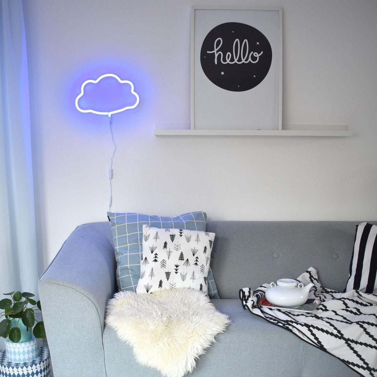 "Neon A Accrocher Au Mur lampe néon ""nuage"" – a little lovely company – hip hip hip"